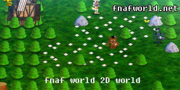 Fnaf World 2D