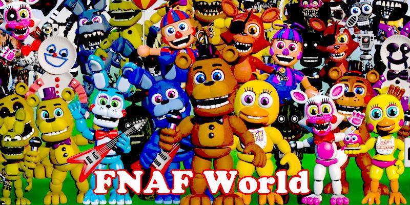 FNAF World Game