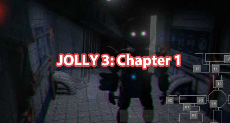 JOLLY 3: Chapter 1 – The astonishing mysteries of Freddy Fazbear's Pizza