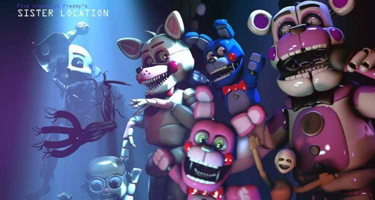 Five Nights at Freddy's (FNAF)Sister Location  Free Download APK for Android