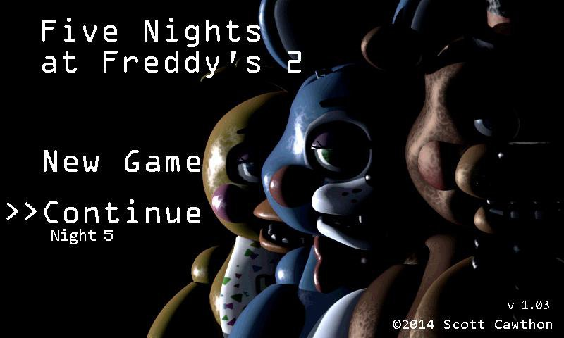 Five Nights at Freddy's 2 (FNAF 2) Free Download APK for Android