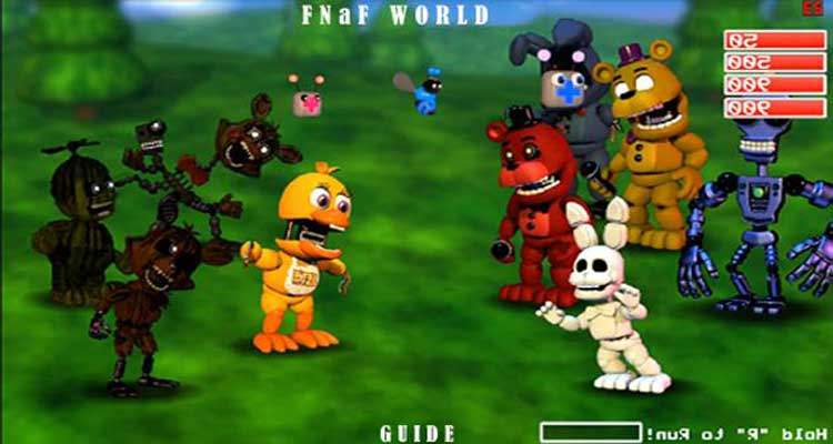 FNAF World Free Download APK for Android