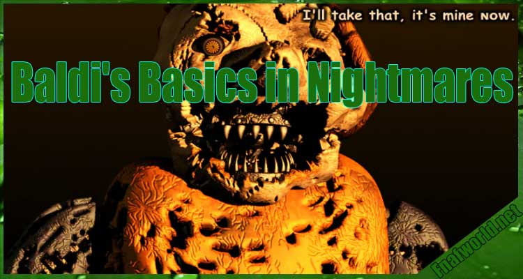 Baldi's Basics in Nightmares Free Download
