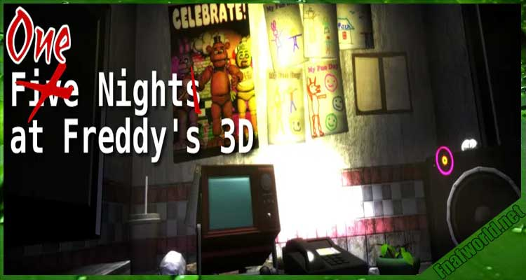 One Night(s) at Freddy's 3D (For HTC VIVE, Oculus Rift or Desktop) Free Download