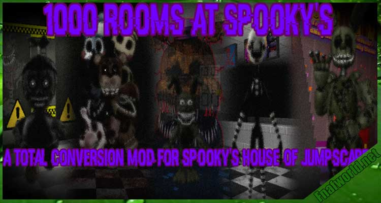 1000 Rooms at Spooky's - A SHoJ FNaF mod