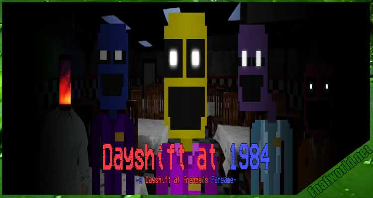 Dayshift at 1984: A Dayshift at Freddy's Fangame! Free Download