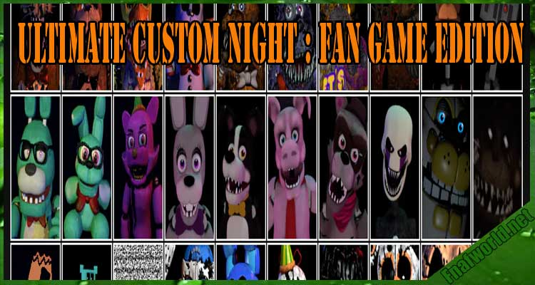 Ultimate Custom Night : Fan Game Edition Free Download